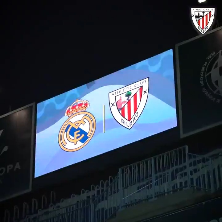 📽️ ZOOM I @realmadriden 🆚 #AthleticClub 🦁  👣 One step closer to the dream, #Supercopa 🏆  #BiziAmetsa 💭