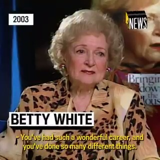 It's Betty White's 99th birthday today! 🎉❤️  PROTECT HER AT ALL COSTS, and enjoy this 2003 interview she did with @MTVNews.