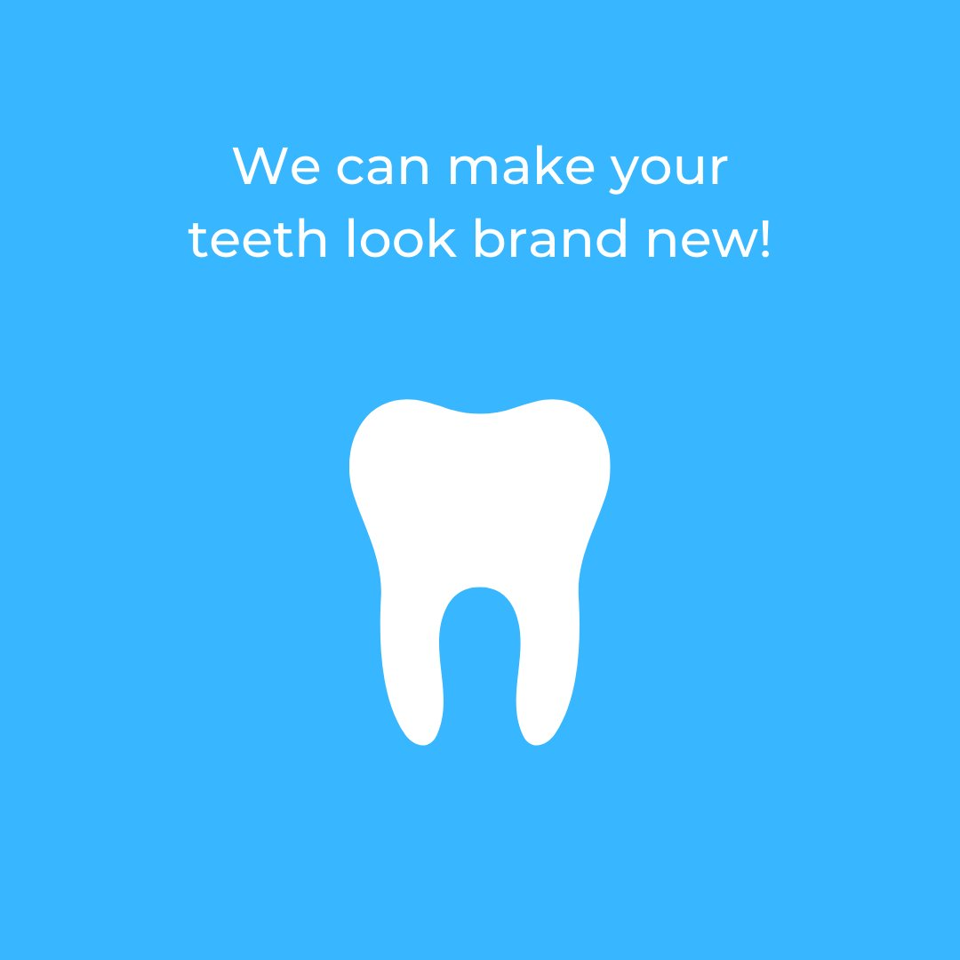 New year, new teeth! With cosmetic dentistry, your teeth can look brand new!   #dentist #dental #dentaloffice #oralhealth #oralhygiene #dentalcare #teeth #smile