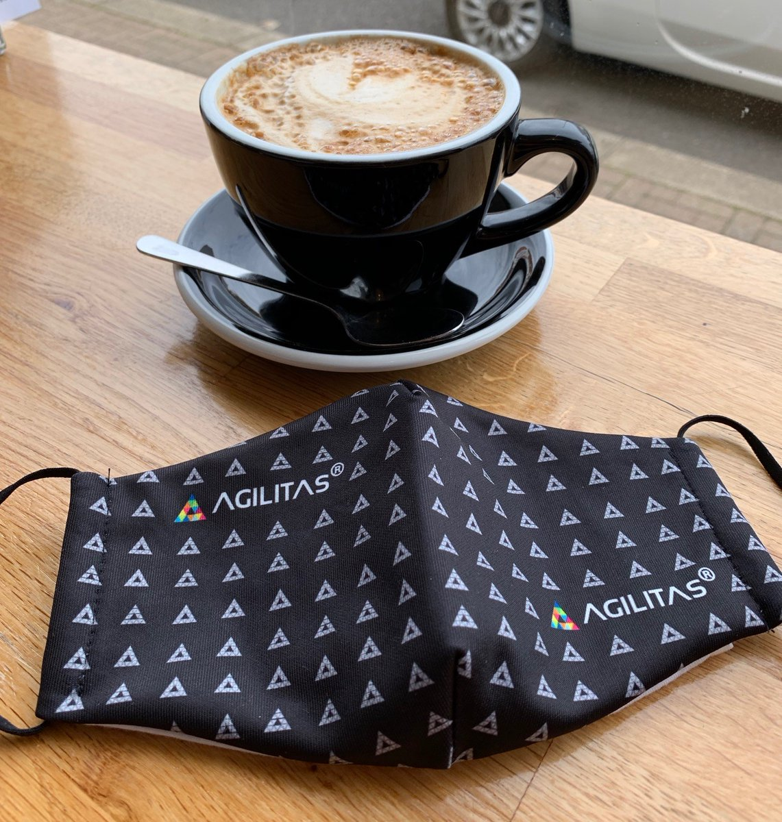 As we find ourselves in #lockdown3 we're pleased to offer all Agilitas customers a FREE #covid19 mask to help keep you safe for those times you do need to go out.  To qualify you need to be an Agilitas customer & follow our socials - email your request to info@agilitas.co.uk