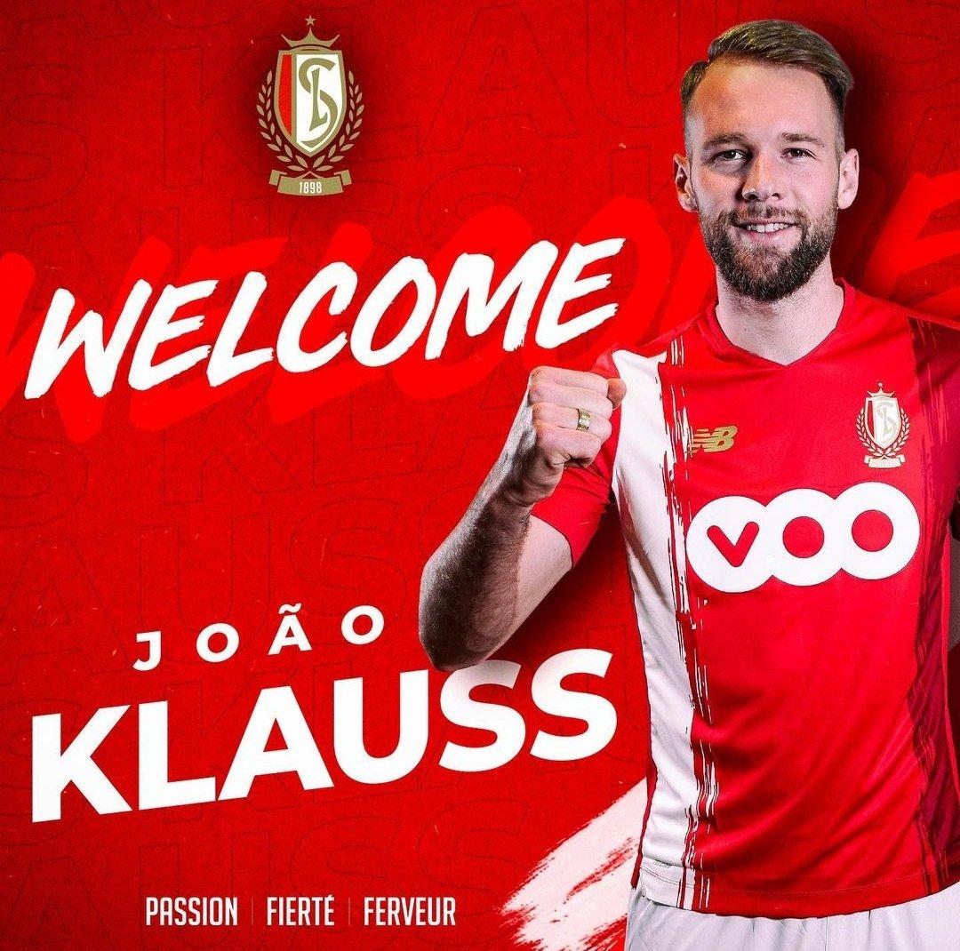 OFICIAL✅🆕  João Klauss es nuevo jugador del Standard Leija. Llega procedente Hoffenheim en calidad de cedido con opción a compra NO obligatoria.  #JoaoKlauss #StandardLieja https://t.co/1Fk4cyxcJ4