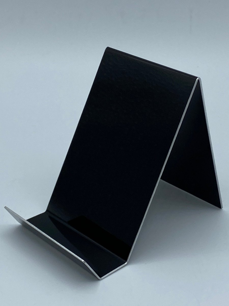 Excited to share the latest addition to my #etsy shop: Aluminum Business Card Holder, Black Business Card Holder, Aluminum Anniversary Gift, Business Card Holder for Desk, Desk Decor  #10thanniversary #aluminumanniversary #corporategiftidea #gift