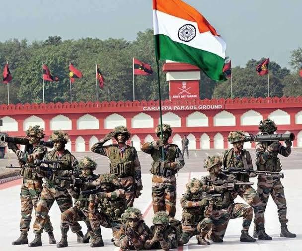 #ArmyDay2021 #ArmyDay आओ देश का सम्मान करें, शहीदों की शहादत याद करें, एक बार फिर से राष्ट्र की कमान हम हिंदुस्तानी अपने हाथ धरे, आओ भारतीय सेना दिवस का मान करें.. @PrithviSahu10  @rab_ki_dasi @Prmatma_ki_beti @imSviti_24 @Cute_Punam @Rukhmani21
