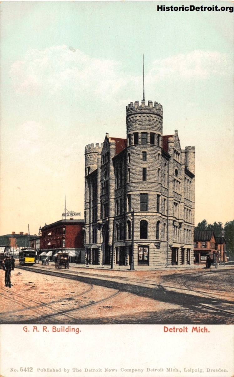#OTD 119 years ago, the Grand Army of the Republic Building was dedicated. It was a fraternal hall for #Detroit's CivilWar veterans. It became a rec center late in its life until closing in 1982. It was reopened in 2015 following a loving restoration by @MindfieldUSA.