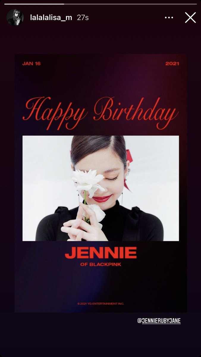 Replying to @_fluffylisa: lalalalisa_m   #PricelessJennieDay  #BonJennieversaire  #빛이나는_제니의_모든날이_찬란하길  @BLACKPINK