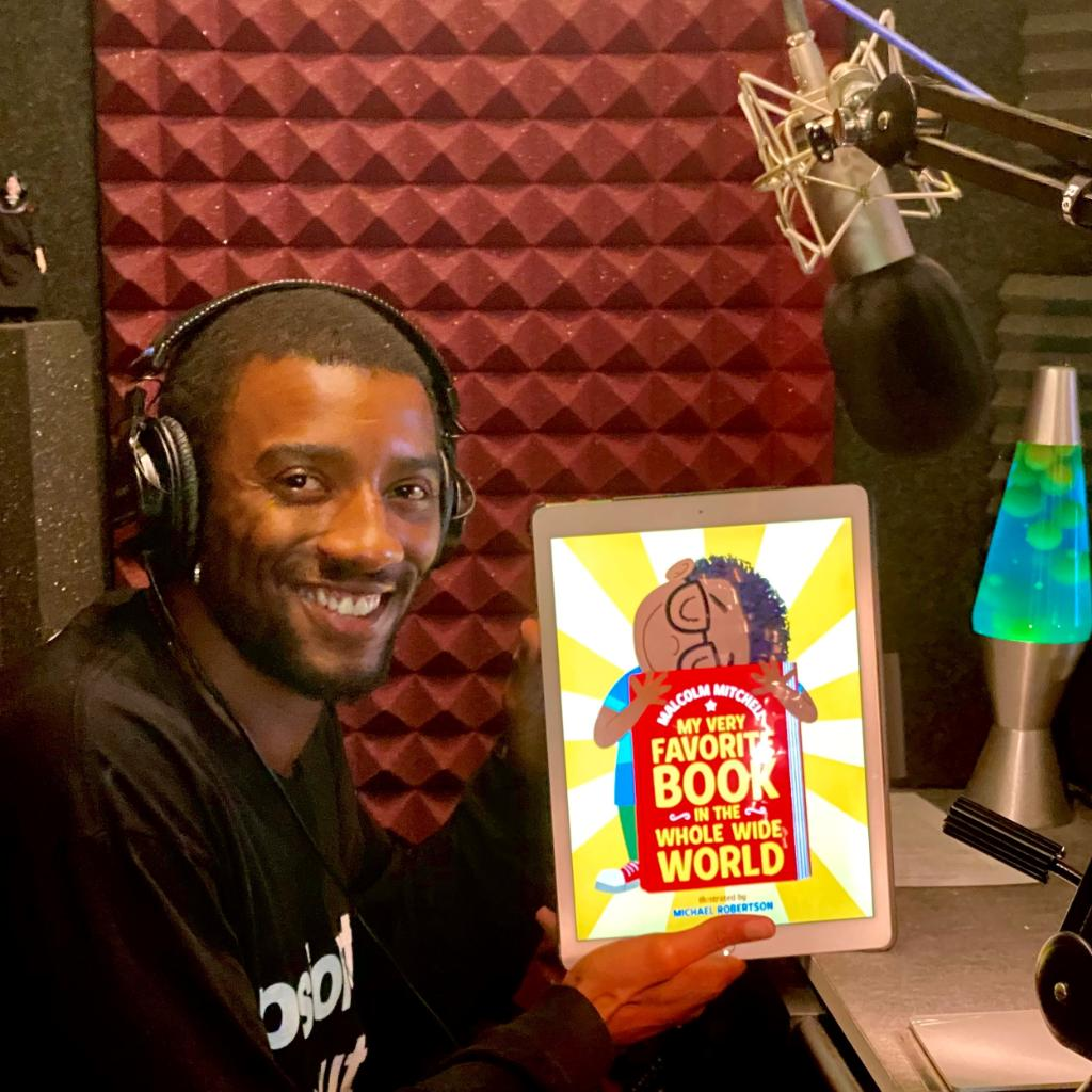 Did you know that My Very Favorite Book in the Whole Wide World is also available as an audiobook, narrated by the author, @MalcolmJarod? Listen to an audio sample of this heartwarming picture book about about finding your story at