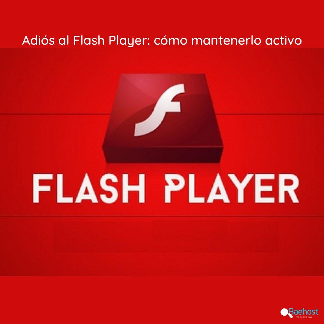 De acuerdo con lo anunciado recientemente, Adobe ha discontinuado el Flash Player y ya no brindará soporte. En esta nota, Baehost te explica qué hacer para mantenerlo activo  https://t.co/Iy8OLdYpb6 #Baehost #flashplayer #flash #soporte #adobe  #sitioweb #website #página #games https://t.co/ODCuRjedMg