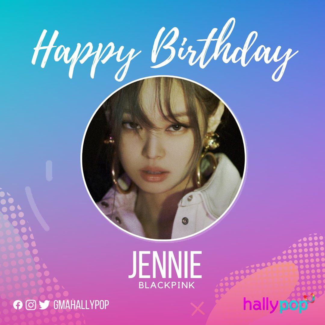 Happy Birthday to Jennie of BLACKPINK!