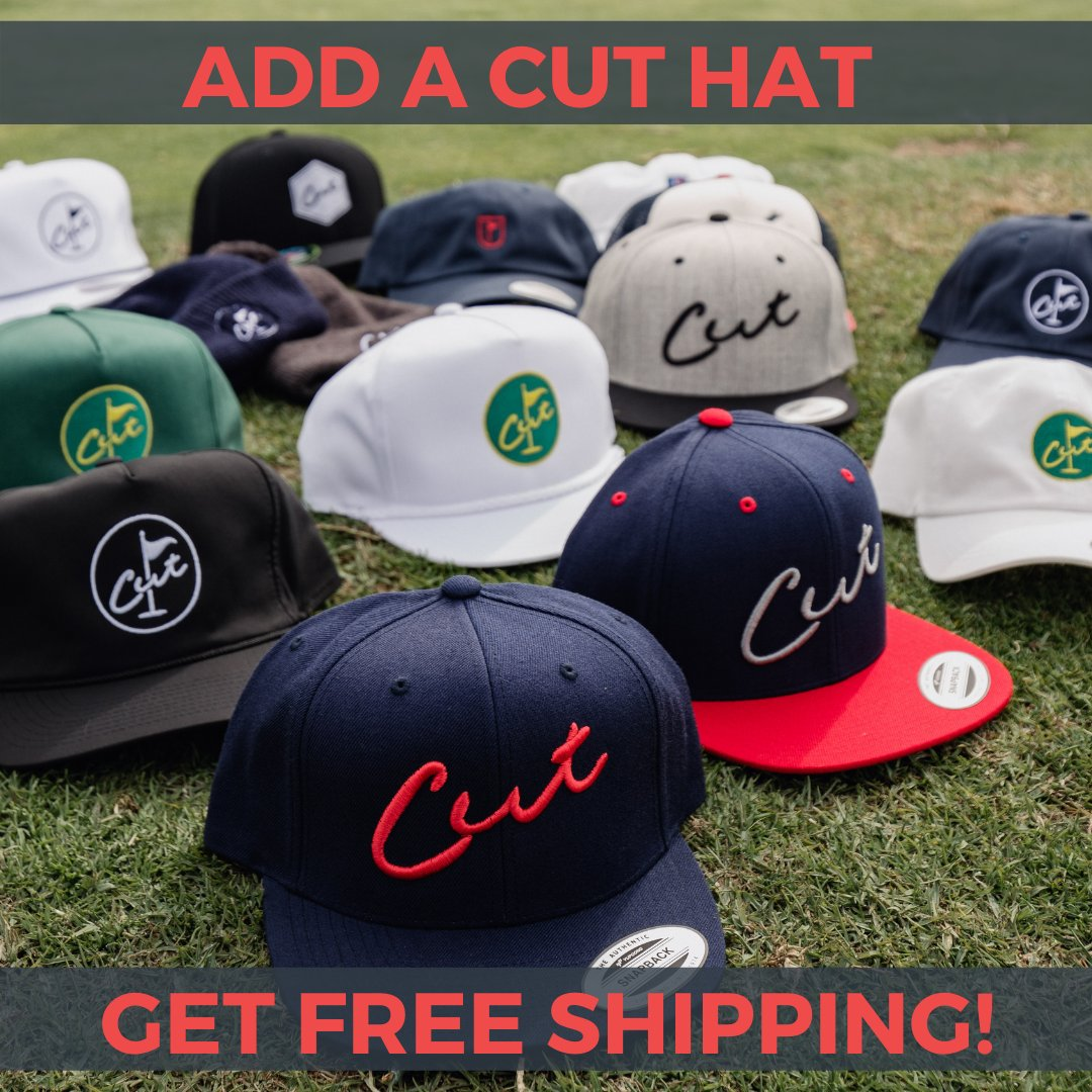 To help celebrate #NationalHatDay, we're discounting shipping all day! Just add a Cut hat or beanie to your order and get free shipping!