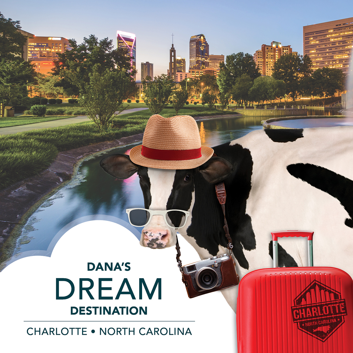 Dana can't wait to visit her 2021 dream destinations! She is ready to fly local from MSN Airport to @CLTAirport, where she can explore the famous EpiCentre, pan for gold, and so much more:   #MSNAirport #Charlotte #FlyLocal #DanasDreamDestinations
