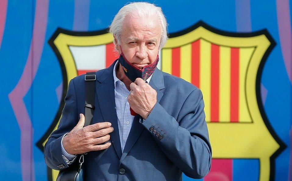 Posible 🆕📅🗳 FEB-MAR  Sin presidente: -No proyecto -No entradas o salidas en invierno -No estabilidad -No futuro -Enormes posibilidades #Messi se marche  Este señor ha secuestrado el @FCBarcelona_es pasamos del 'mes que un club' al 'mes que un robo'  #ForçaBarça 🙏🏻💙❤️