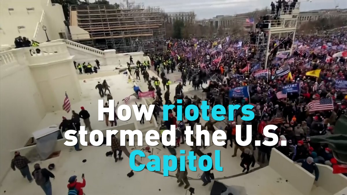For more than four hours last week, pro-Trump rioters stormed the U.S. Capitol. See how they did it and what transpired moment by moment. #Capitolriots #USriots #USCapitol #StormingtheCapitol