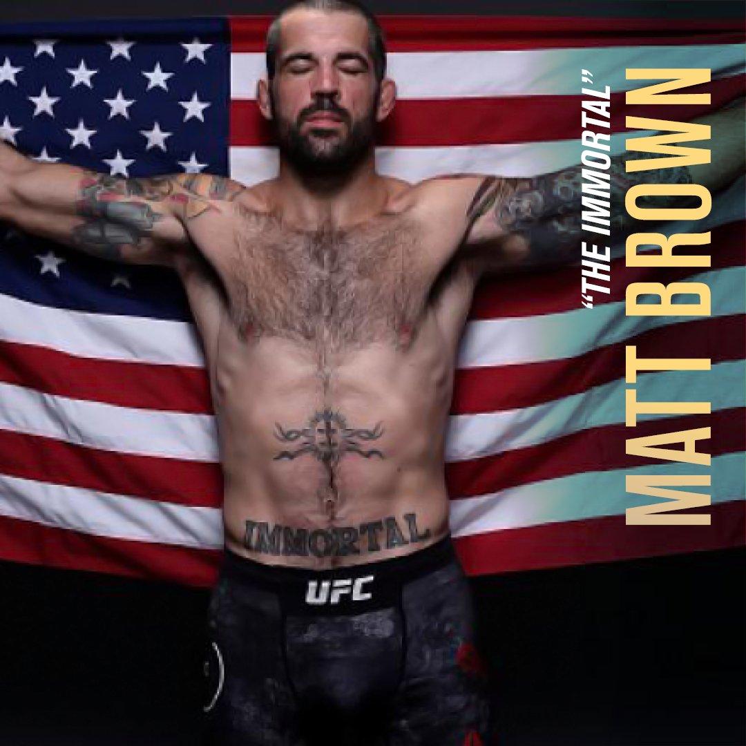 """يواصل """"مات براون"""" صناعة طريقه للمجد في المواجهات الرئيسية لمنافسات ثلاثية #جزيرة_النزال خلال تواجده للمرة الأولى #في_أبوظبي  هل سيتمكن براون من تحقيق النصر وانتزاع اللقب؟   شاركونا توقعاتكم بالتعليق أدناه.  @UFC @InAbuDhabi https://t.co/WlvGSef0fe"""