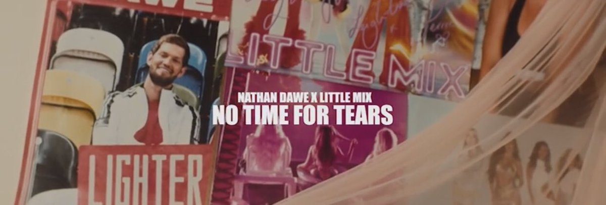 The No Time For Tears Music video has been out for 6 hours and it's got only 45k views!   Are you actually streaming it mixers?? Let's get them views up!   @LittleMix @NathanDawe