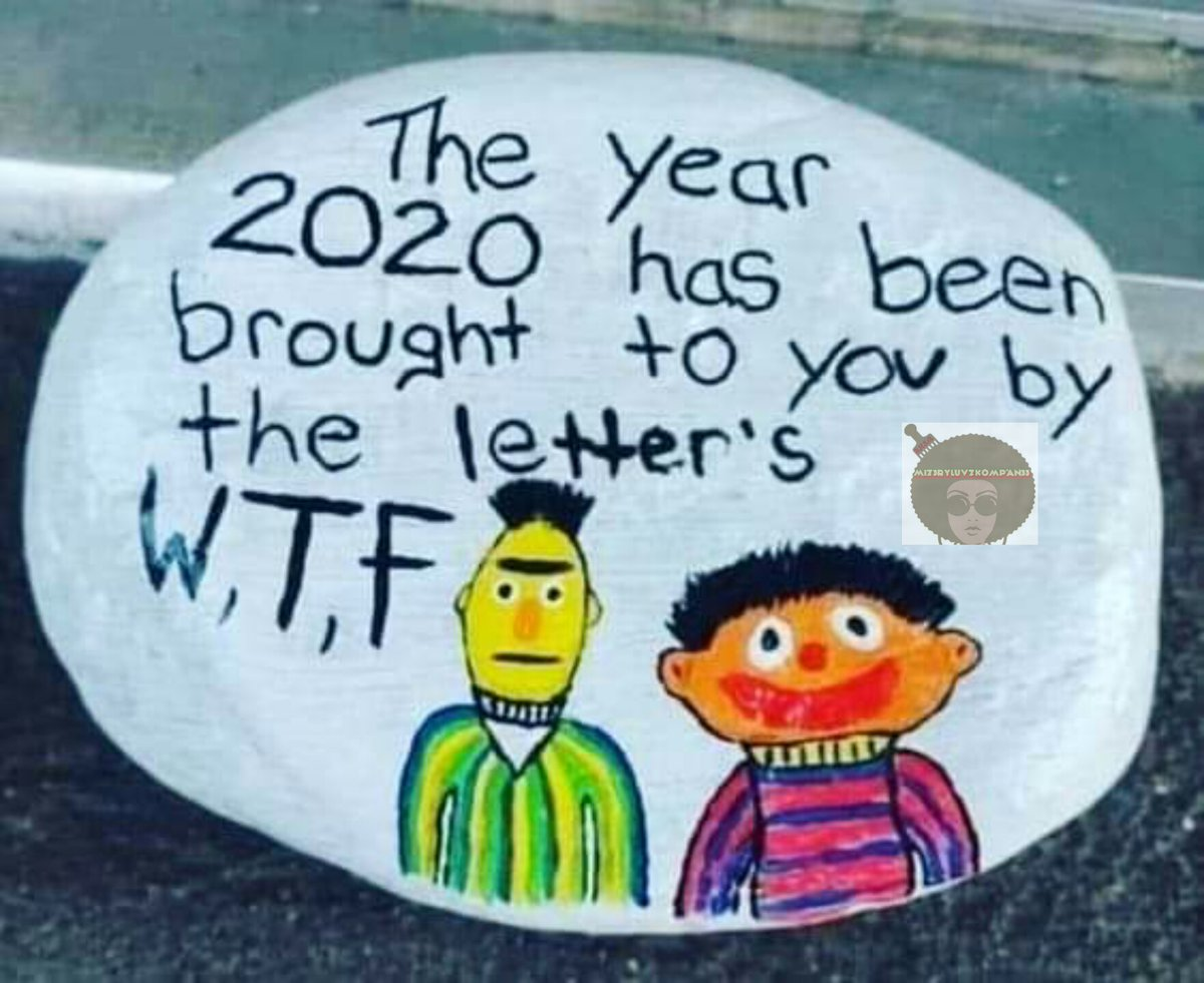 #2020Wrapped #20TwentyWon #sesamestreet #shenanigans