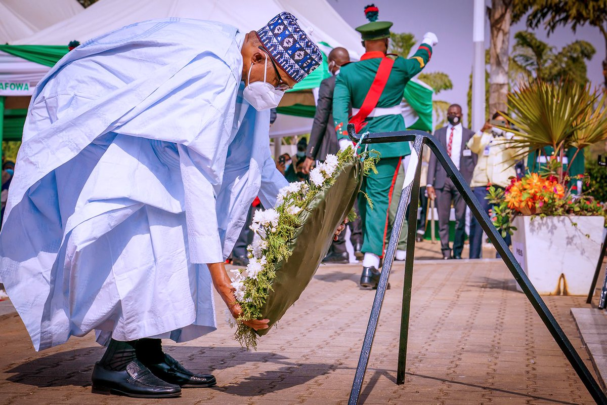 As we commemorate #ArmedForcesRemembranceDay, let me pay tribute to the bravery and sacrifice of all the men & women of our Armed Forces who have paid the supreme price for our unity, peace and security. We also salute our troops currently engaged in internal security operations.