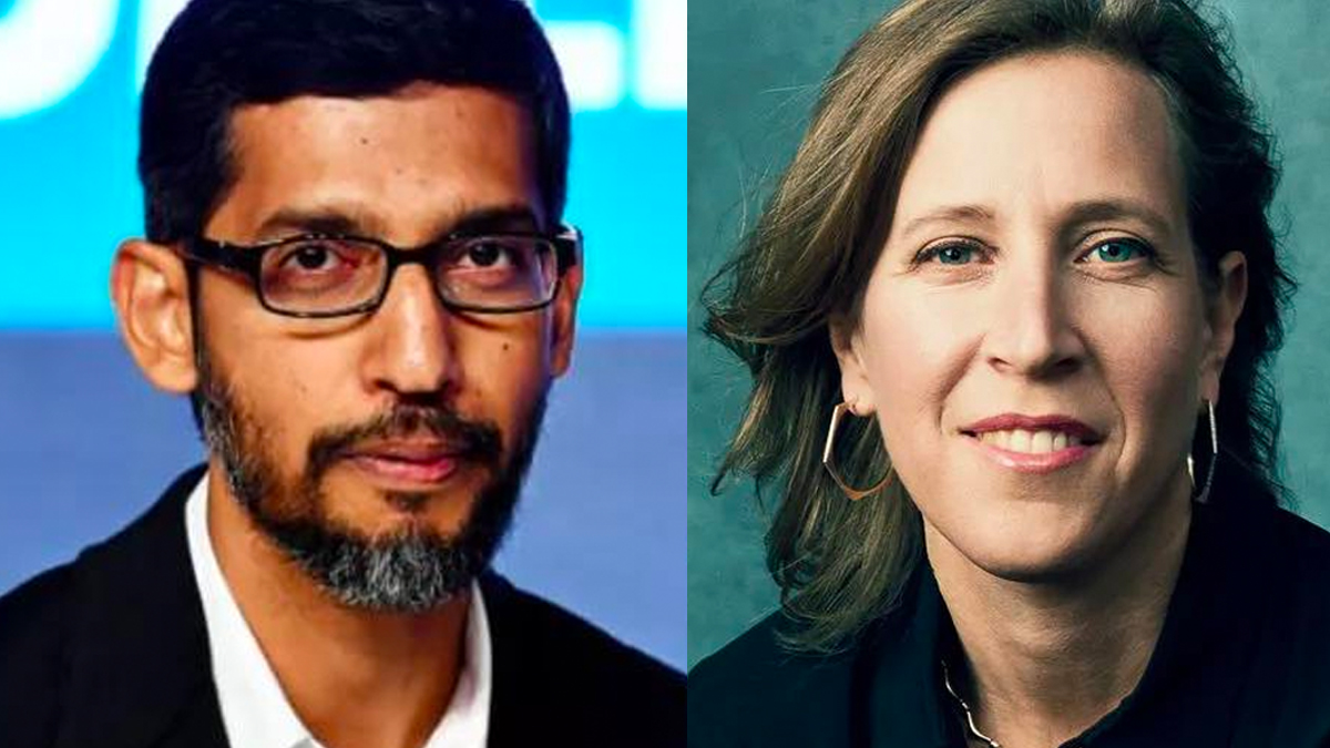 This is Sundar & Susan  When Donald Trump incited violence, they suspended him from YouTube for...1 week  Next week, they plan to let Trump back on...to incite again!  This is madness.   RT @sundarpichai, @SusanWojcicki  If you allow it, you are complicit.  #BanTrumpSaveDemocracy