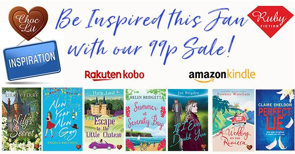 Get ahead in your 2021 #readingchallenge with our #Januarysale. You might discover your new favourite author 😉Plenty of fab Choc Lit and @RubyFiction titles to choose from, including new titles added this week!  #BookRecommendations