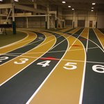 Image for the Tweet beginning: That feeling when indoor track