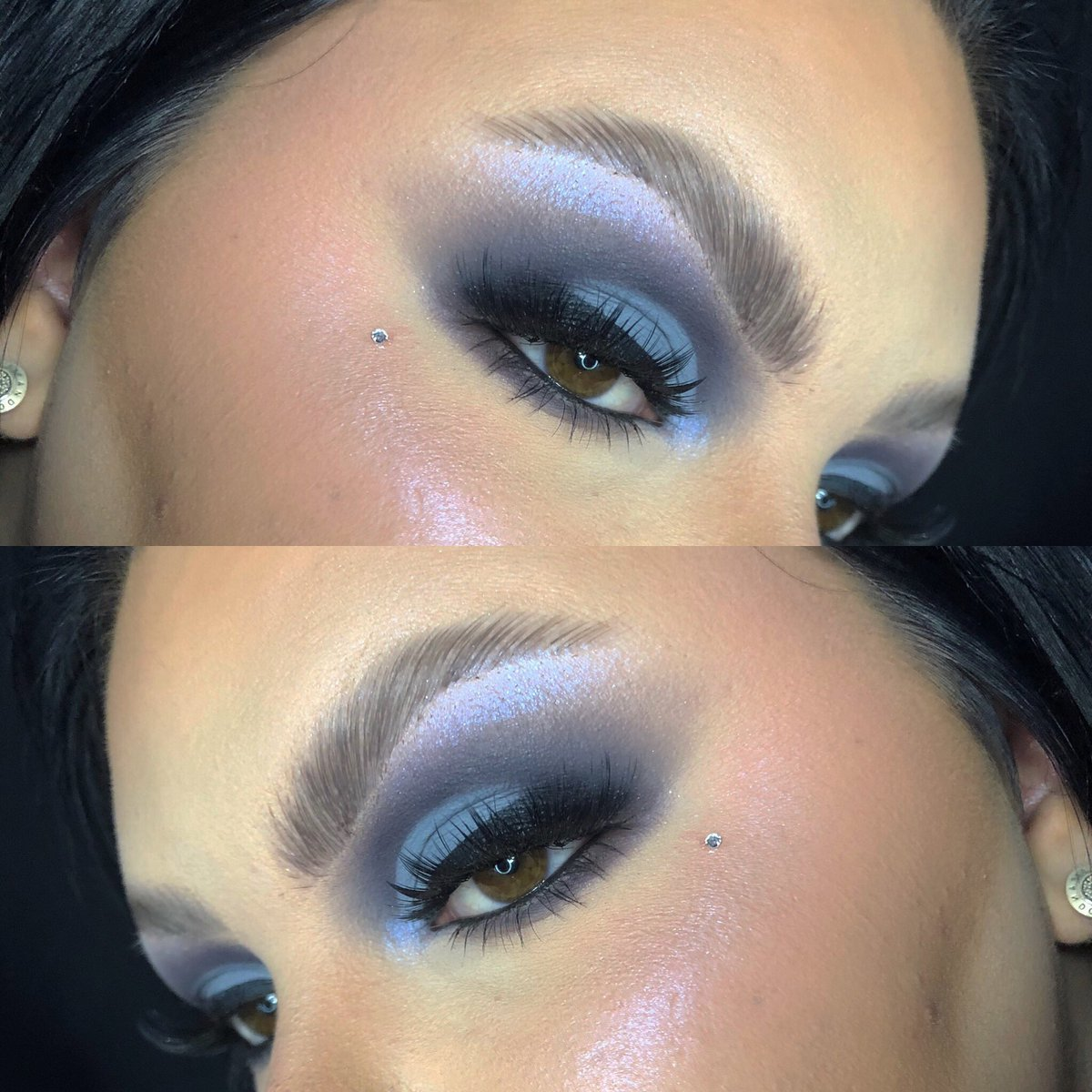 love grey tones🥺🐘 @plouiseacademy crisp finish paint 'nice n saucy' used #mua #makeup #makeupinspo #makeupartist #superdrugspotlight #superdrug #plouise #bperfectcosmetics #staceymariemua