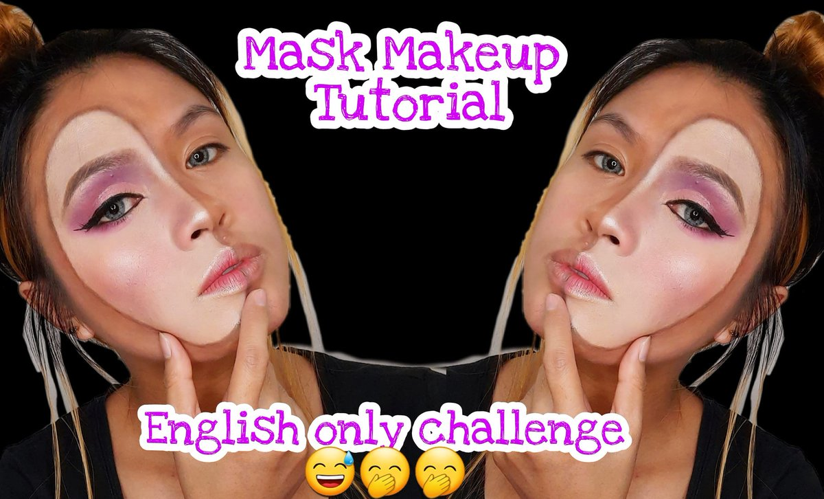 Makeup tutorial plus English only challenge 🤣 Hope you like this video 😁😊.  #makeupartist #makeuplover #makeuplooks #makeuptutorial #makeup #makeuplooks #makeuptutorial #mua #muaph #muaphilippines #illusionmakeup #illusionist #makeupillusion
