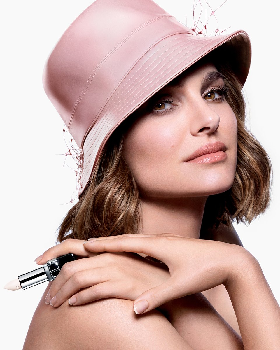 Embodied by Natalie Portman, discover the new #RougeDior Satin Balm: the first Rouge Dior Couture Balm with a universal sheer finish. All of Dior floral skincare science is infused in this balm. #DiorMakeup #WeWearRouge
