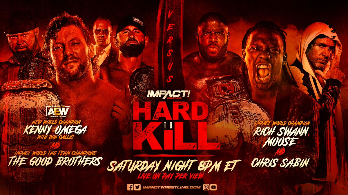 BREAKING: Due to unavoidable circumstances, @TheMooseNation will replace @fakekinkade in the #HardToKill main event.   FULL DETAILS: