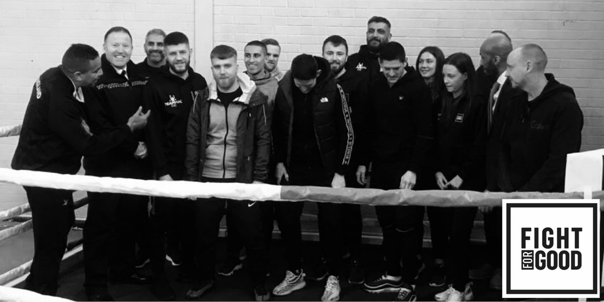 Squad goals 🥊🙌🏽  Our fantastic group of coaches 💪🏼  #fightforgood #TripleS #sssnetwork #Boxingcoaches #communityboxing #boxingawards  #violencereductionunit