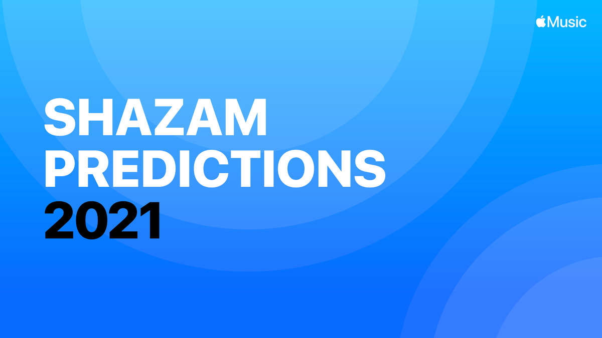 The Shazam Predictions 2021 playlist features 50 emerging artists who, based on Shazam data reviewed by @AppleMusic editors, are poised to make a splash in 2021 and beyond! Listen exclusively on Apple Music: