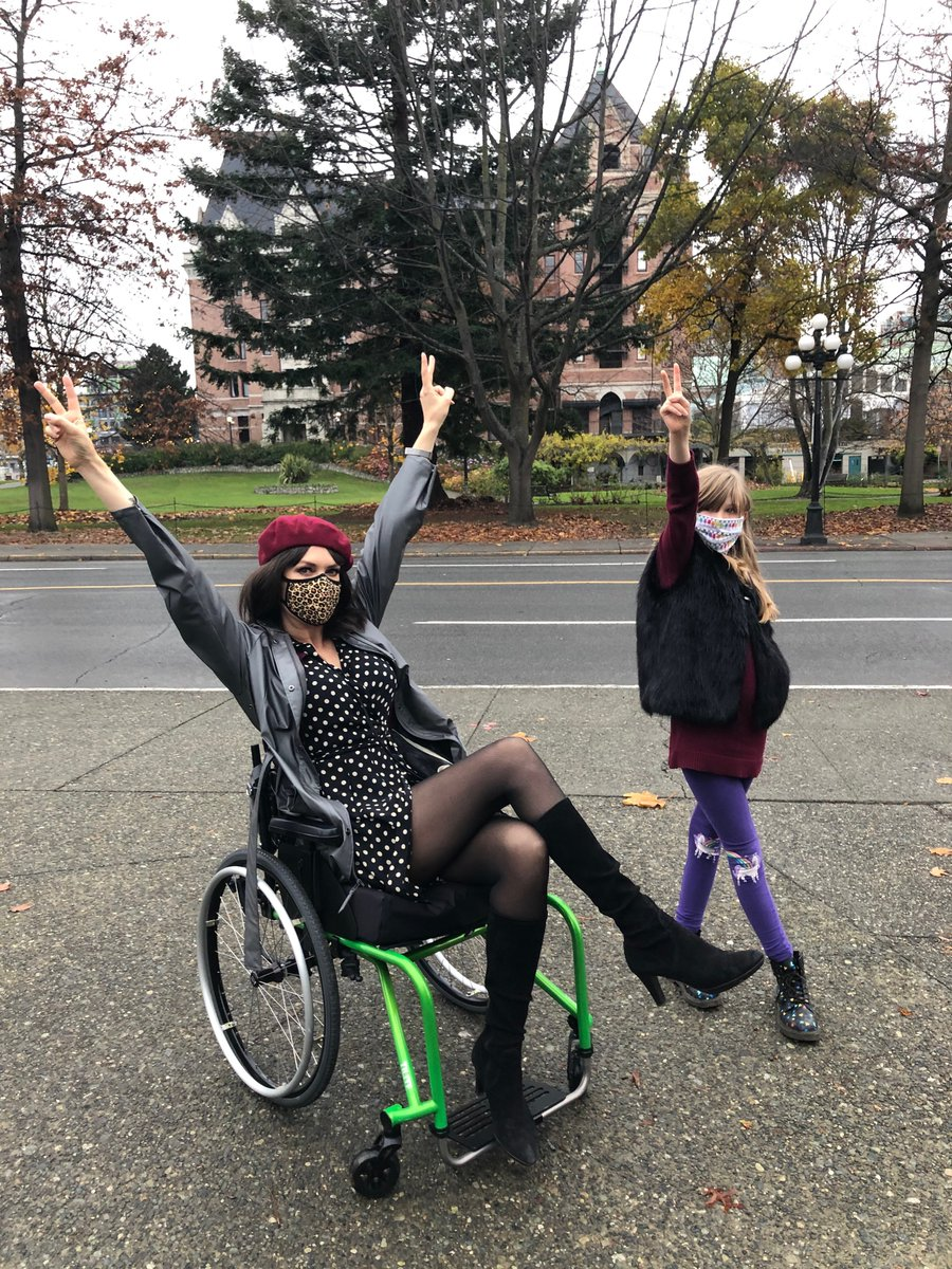 Wheelchairs are freedom machines. They are chariots of independence. Please stop describing wheelchairs in negative terms - stuck in confined to etc. Having a #wheelchair is frankly awesome for those who use them and would be so much more so in a more #accessible world.