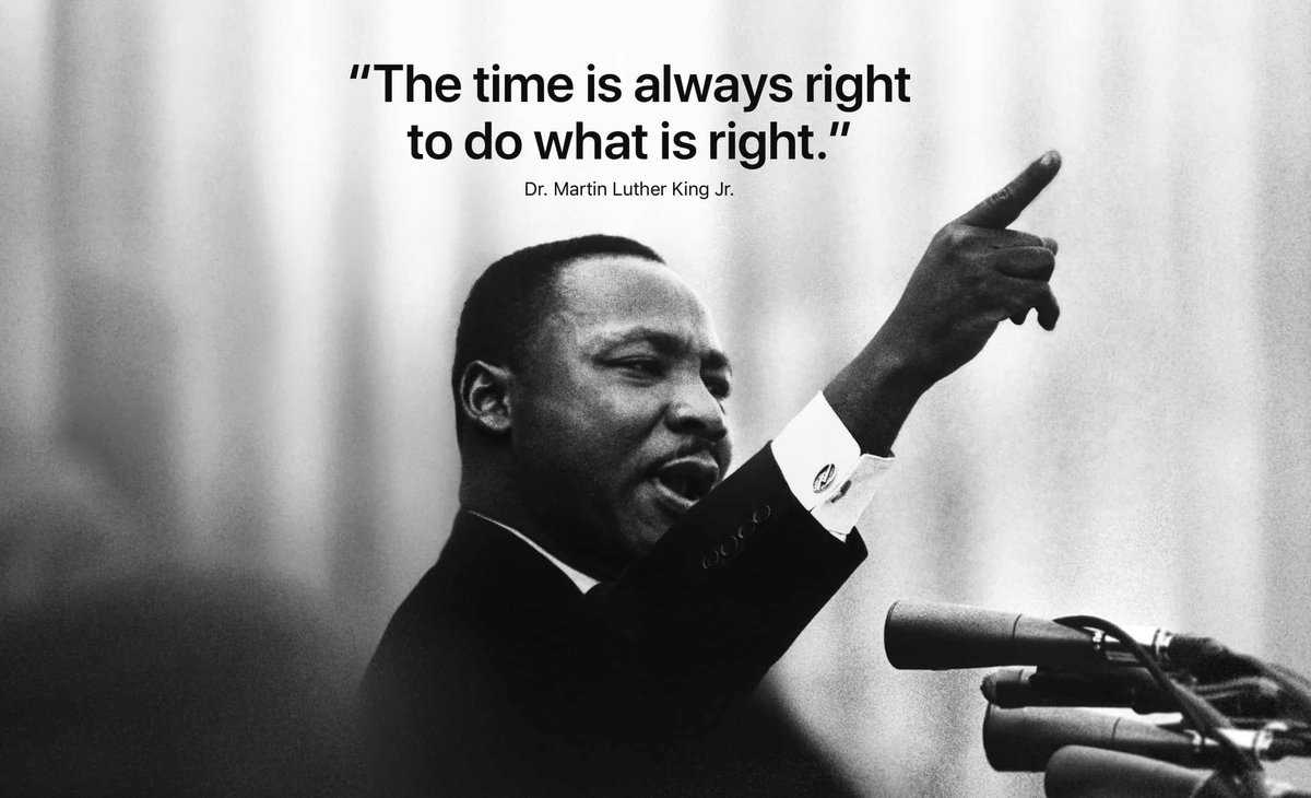In honor of a true American hero, we celebrate Martin Luther King, Jr. on his birthday.    Let us always remember the words of Martin Luther King, Jr. and ensure to unite as brothers and sisters in 2021.  #leadershipmatters #justicemercyhumility