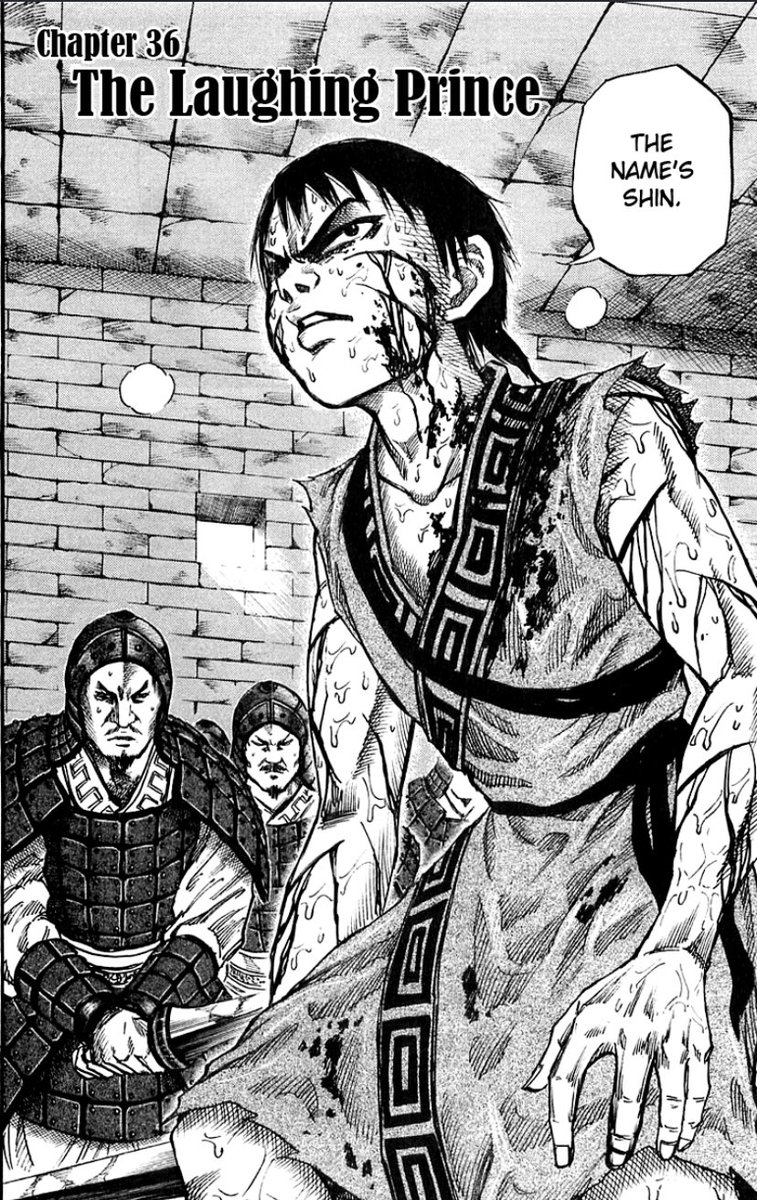Its crazy how this arc isnt even top 6 in Kingdom but yet its a really strong introduction arc.