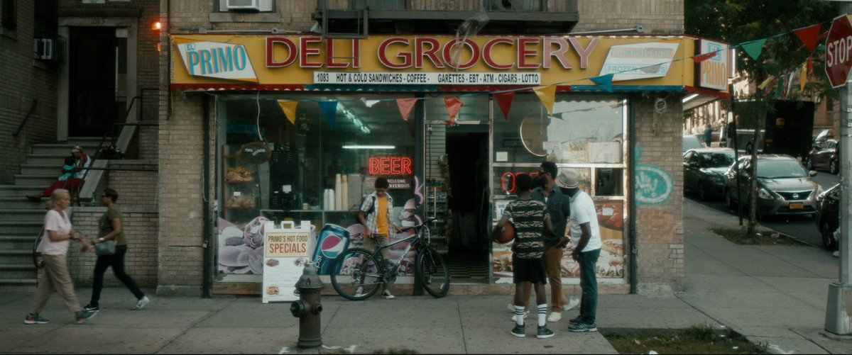 is it even a real bodega if it doesn't have:  -low lighting -crowded aisles -a random selection of food & drinks -savvy local guy at the counter -a cat  VAMPIRES VS. THE BRONX, where kids fight gentrifying vampires in the Bronx, supports this thesis beautifully