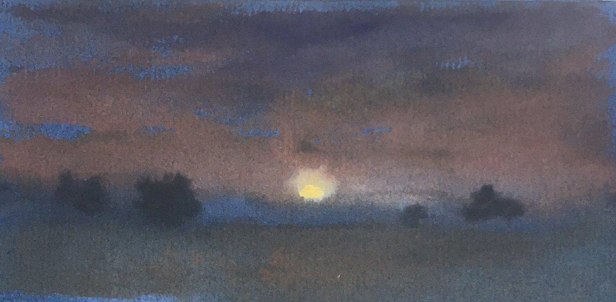 Trees at sunset Dover #light #sun #Dover #Kent #colour #artist #art #London #gallery #contemporaryartist #contemporaryart #watercolour #watercolor #zen #Japan #greentea #Buddha #landscape #landscapes #paint #Paintings @OldDovorians @Port_of_Dover @POferries @dovercollegehm