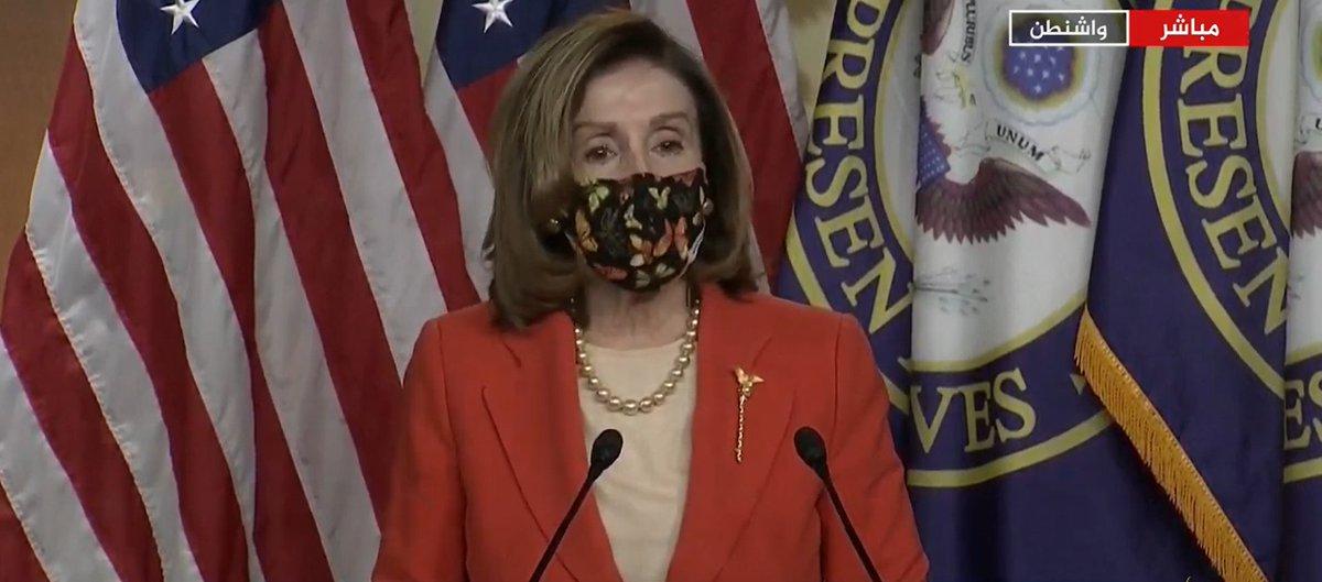 رئيسة #مجلس_النواب_الأمريكي نانسي #بيلوسي: هناك اهتمام قوي بإنشاء لجنة شبيهة بلجنة #أحداث11سبتمبر للتحقيق في هجوم #الكونغرس  | #الخليج_أونلاين #نبض_الخليج #أمريكا