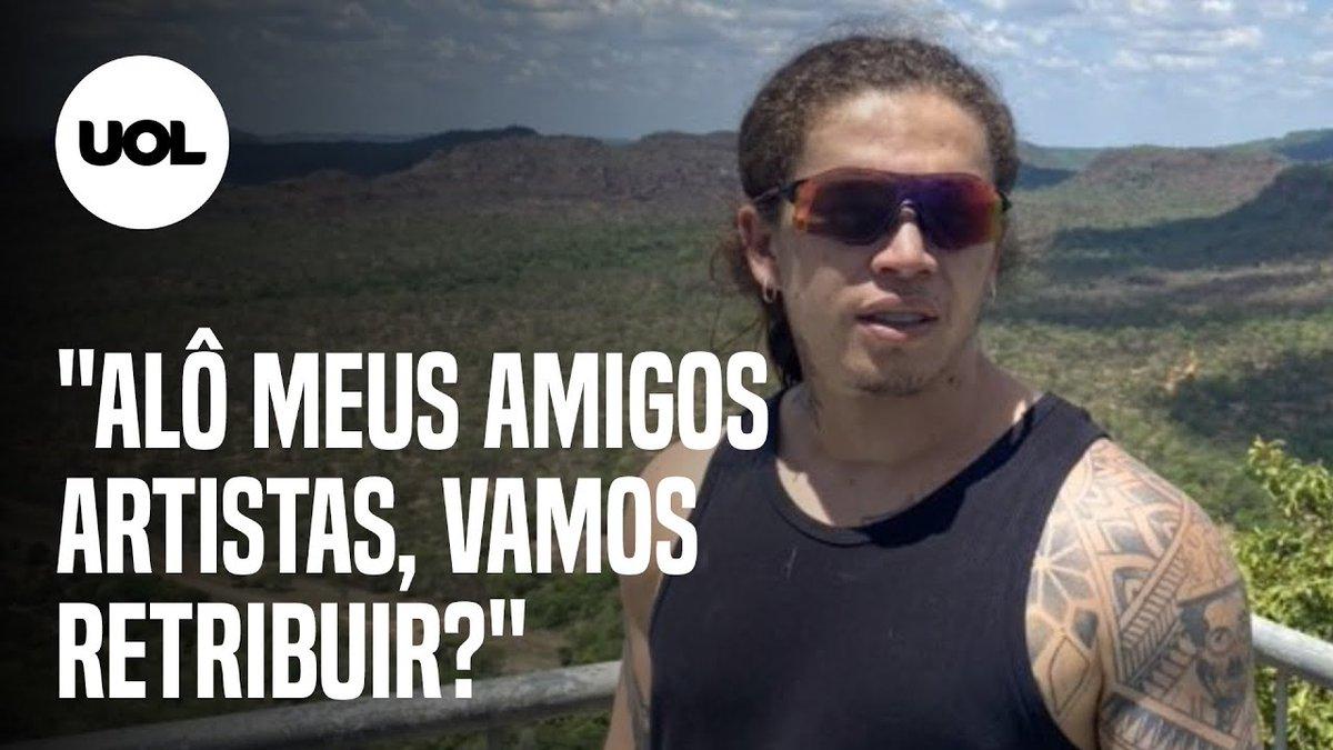 Whindersson Nunes faz campanha por oxigênio e convoca artistas  O humorista mobilizou artistas por oxigênio para Manaus. O estado do Amazonas entrou em colapso após as internações por covid-19 baterem recorde e o estado registrar falta de recursos para os atendimentos