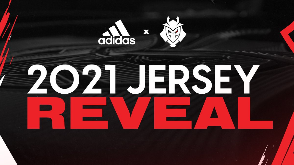 HERE. WE. GO.  Our official G2 x adidas 2021 Pro Kit Jersey is available NOW!  🛒