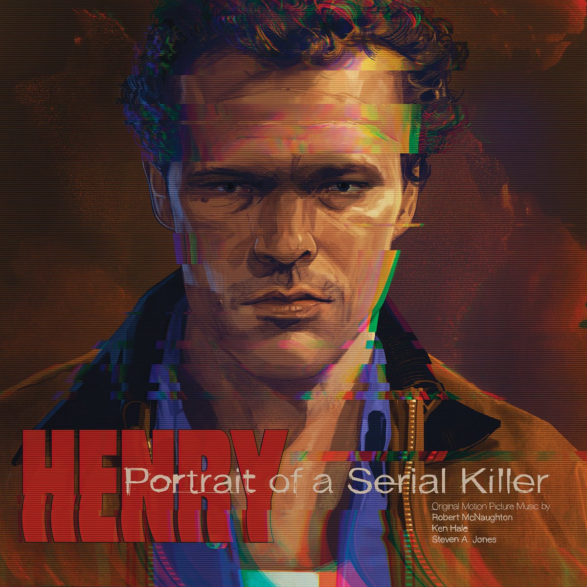 "HENRY: PORTRAIT OF A SERIAL KILLER Original Motion Picture Soundtrack is On Sale Now! Features new art by @TheRichKelly, 180 gram ""Crime Scene"" colored vinyl, deluxe packaging, and more!"