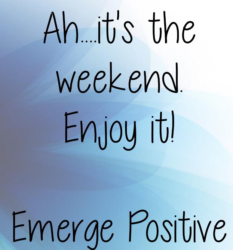 #weekend #weekendvibes #enjoylife #positive #PositiveVibes   #cpaLeadHER #buildmaintainenhance https://t.co/1FsXdzkl6f