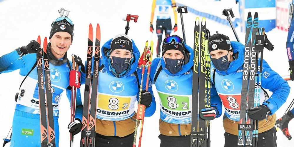 (Le Télégramme): #Biathlon. Les #Français remportent le relais d'Oberhof [Vidéo] : Victoire des Bleus en Allemagne! Le relais emmené par Quentin Fillon-Maillet a remporté l'épreuve à Oberhof, ce vendredi. L'équipe de France a.. https://t.co/AT0bfzxGZ8 https://t.co/LWTxR7I79H
