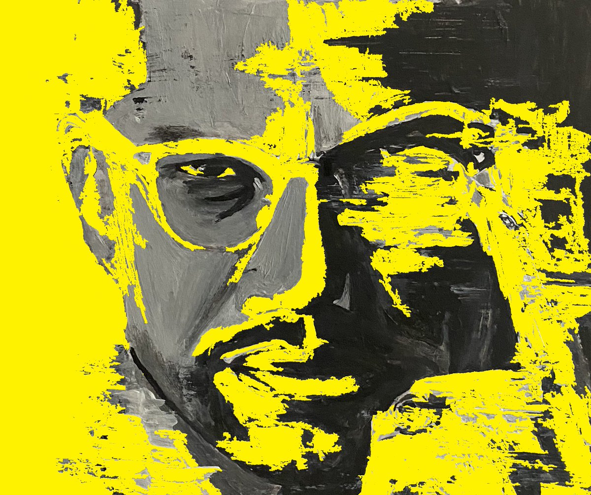 The Minister  #art #artist #malcolmx #painting #sing #artwork #singing #mystyle #like4like #share #acrylic #music #drawing #follow #acrylics #sports #athletes #digitalart #photography #comment #supportartists #song #design #sketch #portrait #icon #artwork #myart #abstractart