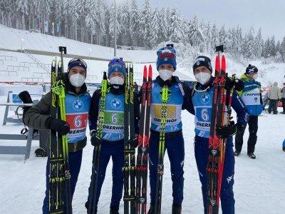 Biathlon - Splendida Italia ad Oberhof: è terzo posto della staffetta maschile! https://t.co/J5KKhTIAZT https://t.co/h42pvLmKOq