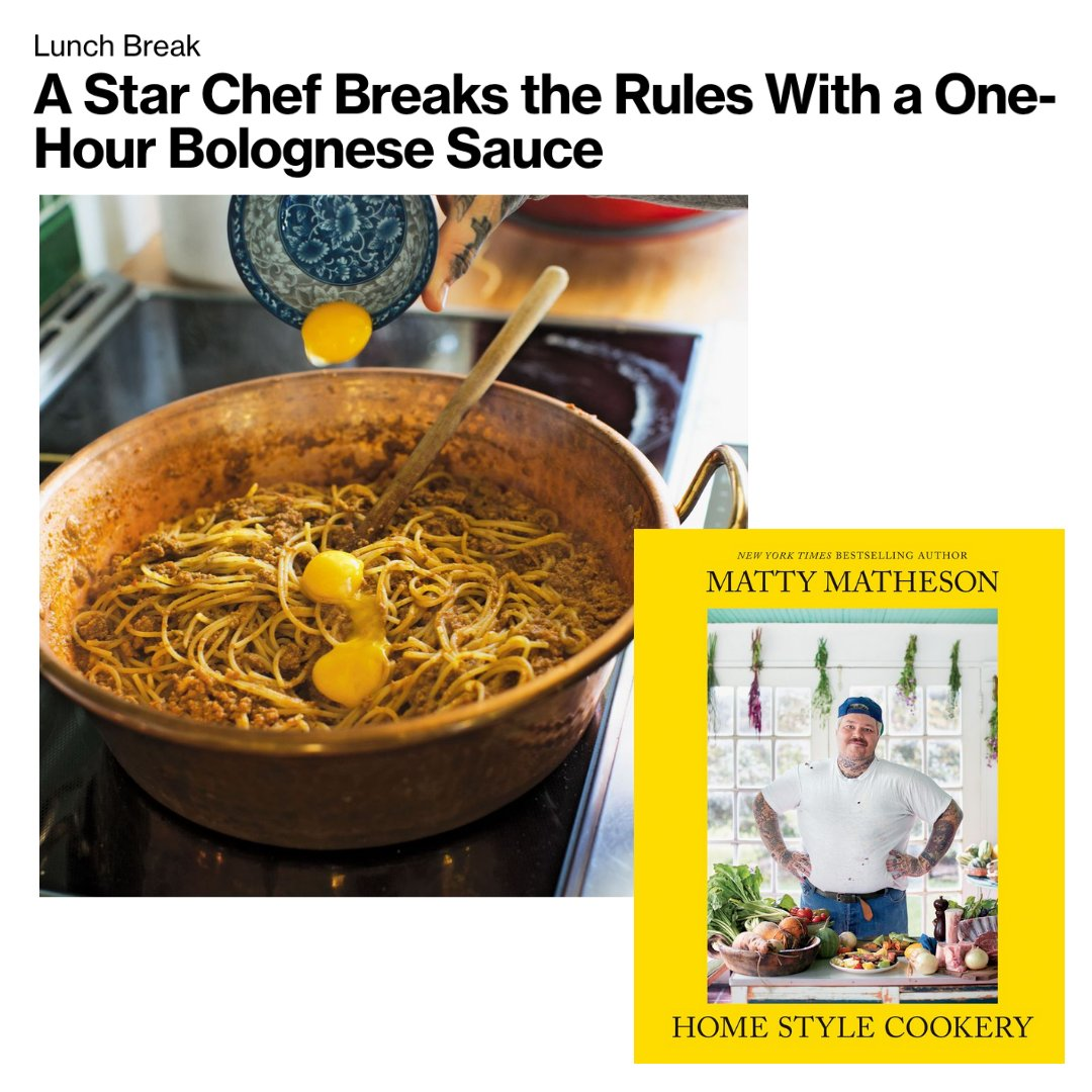 THANKS @KKRADER FOR THE FEATURE ON @LUXURY  LUNCH BREAK RULE BREAK MAKE A BOLOGNESE IN AN HOUR ISH!!!! READ THE ARTICLE HERE: