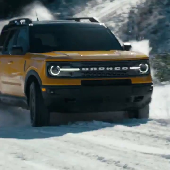 What are the perfect conditions for the #FordBronco Sport? See for yourself.