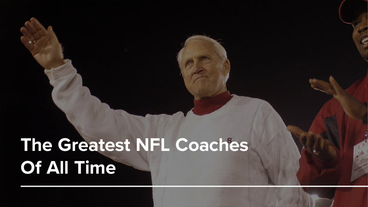 Bill Walsh: As the inventor of the West Coast offense, Bill Walsh still collects royalties every time a pass of ten or fewer yards is attempted.