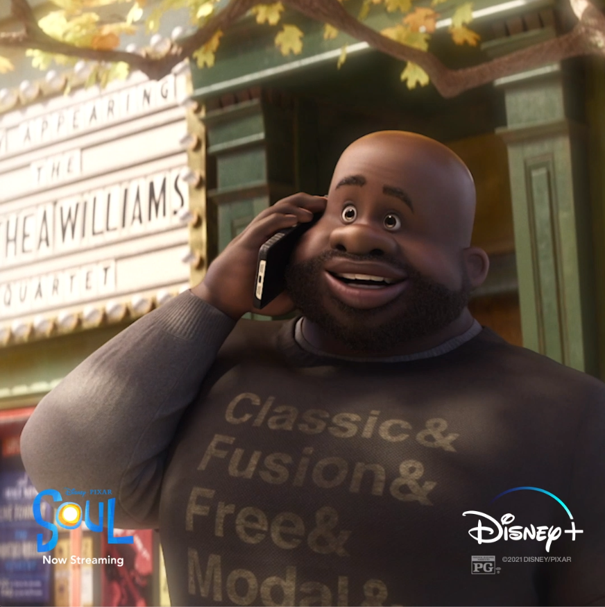 """Your class was the only reason I went to school at all."" Tag a teacher that inspired you. #PixarSoul"