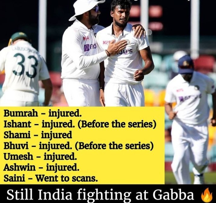 This is Our #TeamIndia ❤️🇮🇳. Come-on @BCCI❤️💥.
