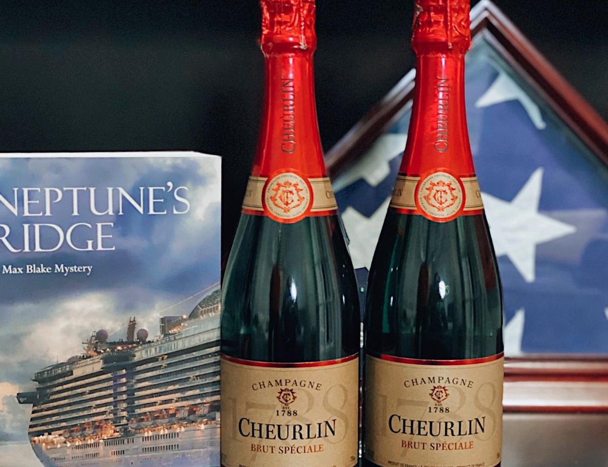 A special thanks to author William Florence for including #Cheurlin1788 in his latest novel Neptune's Ridge! If you haven't already, you should check it out! 🥂📚