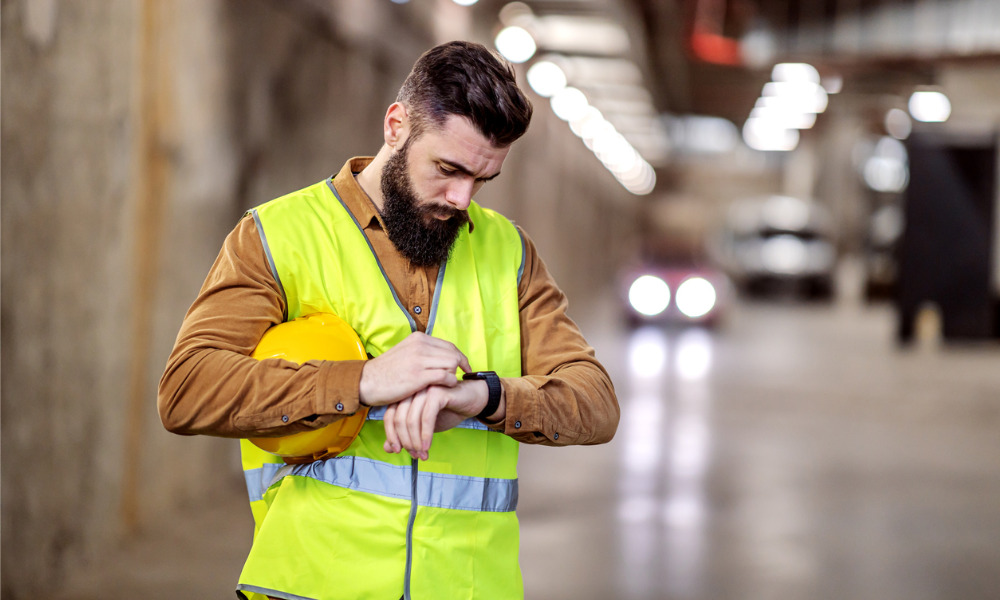 Seventy-seven per cent of Americans say they would wear an employer-issued wearable on their wrist if it provides benefits: social distancing reminders and eliminating the need for passwords or access key cards. #tracesafe