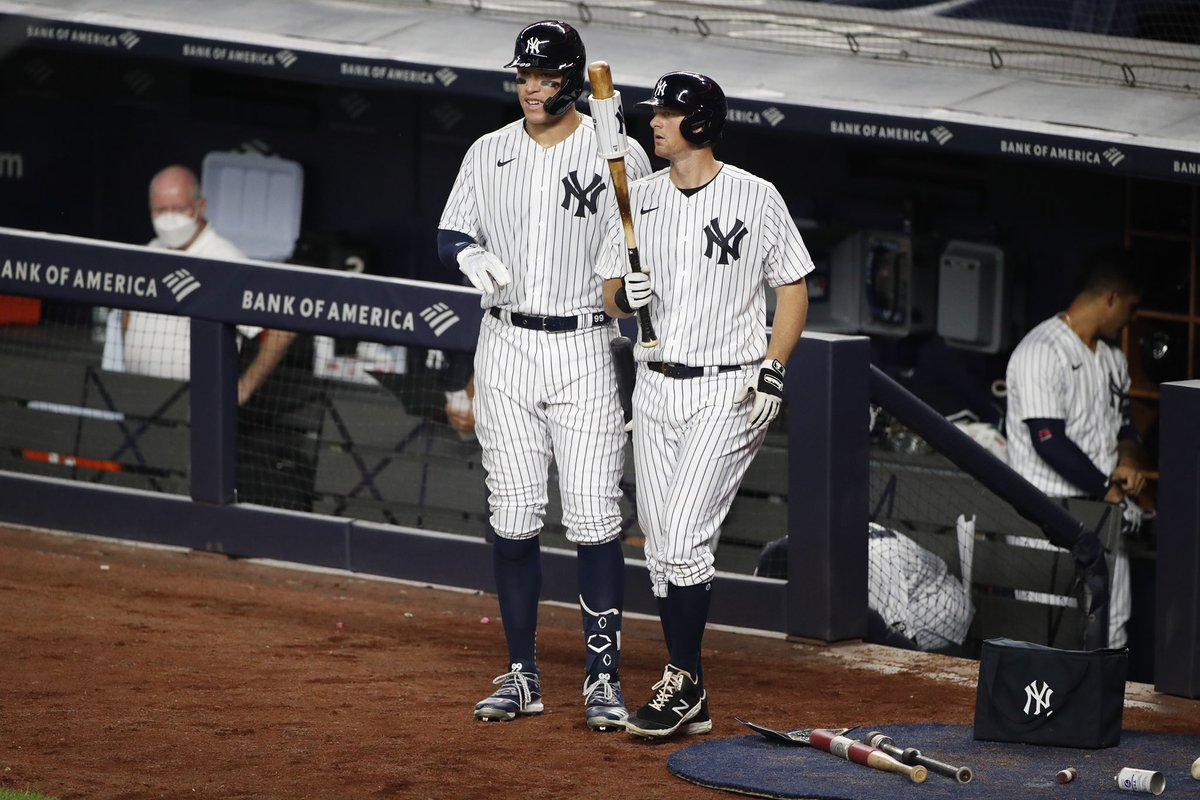 Replying to @TheJudge44: Let's roll! Excited to have you back in pinstripes @DJLeMahieu